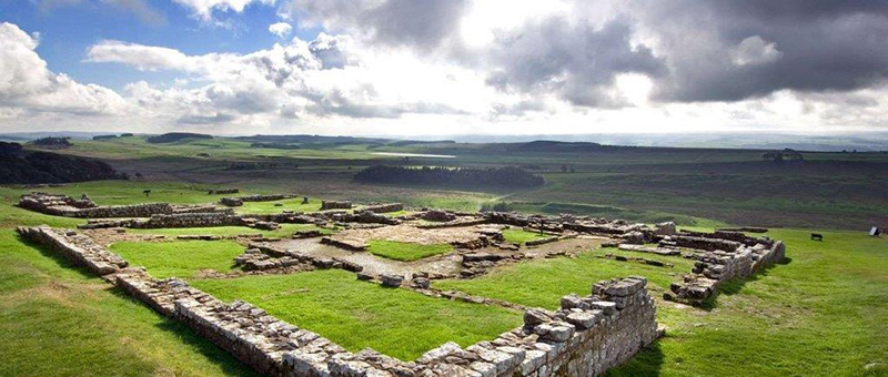 Housesteads Fort on Hadrians Wall