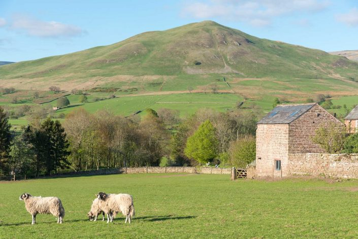 View of Dufton Pike