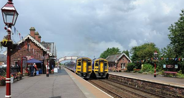 Appleby Station on the Settle Carlisle Line