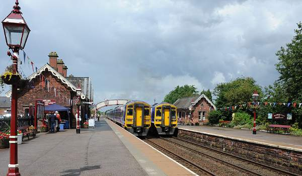 Appleby Station on the Settle Carlisle Line