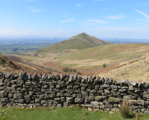 Dufton Pike from the wall walk